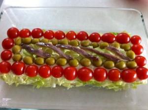 Carmen - tarta vegetal