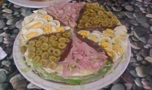 Montse - tarta vegetal