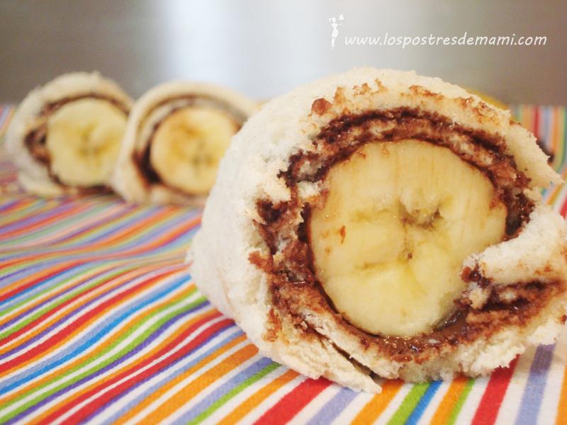 Fabuloso Sushi de banana - Los postres de mami – Recetas fáciles y dulces TA36