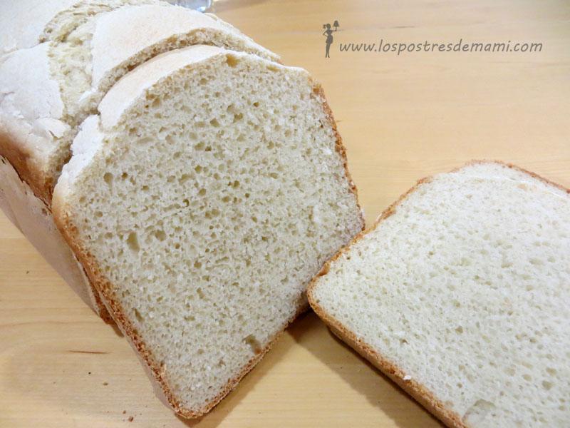 Pan rapido en panificadora
