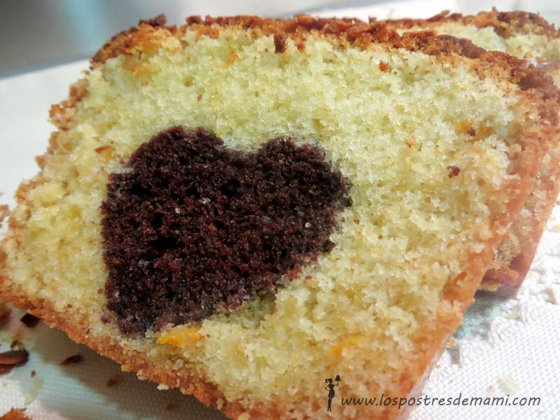 Plum Cake de San Valentin