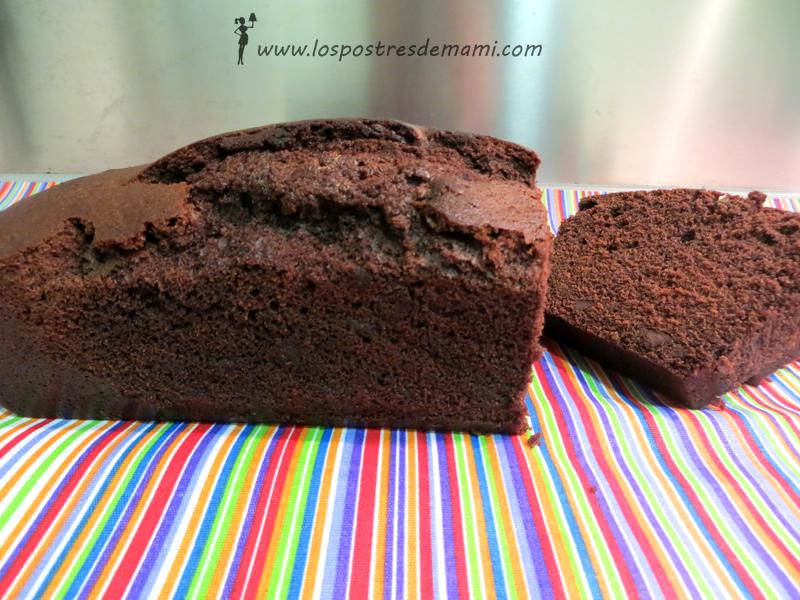 Plum Cake de chocolate