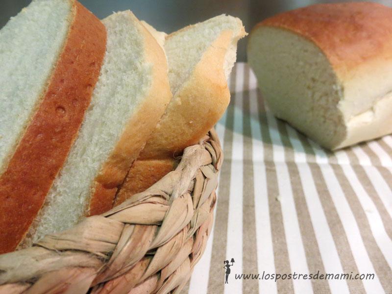 Receta casera de pan de molde