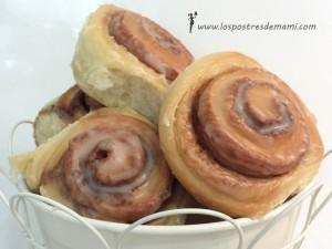 Rollos de canela cinnamon rolls