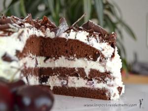 Tarta selva negra chocolate