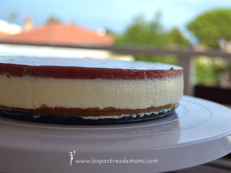 tarta yogur y fresa thermomix