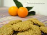 Galletas de jengibre, avena y naranja