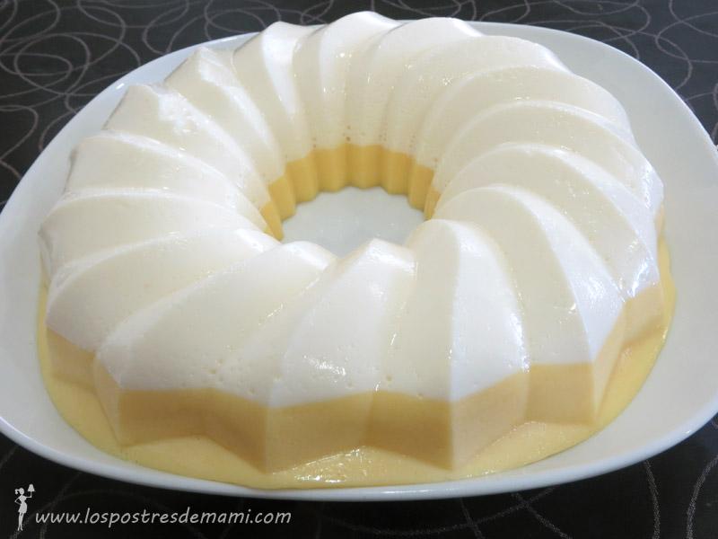 tarta melocoton y nata