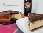 Tarta de queso con chocolate y Baileys en Thermomix