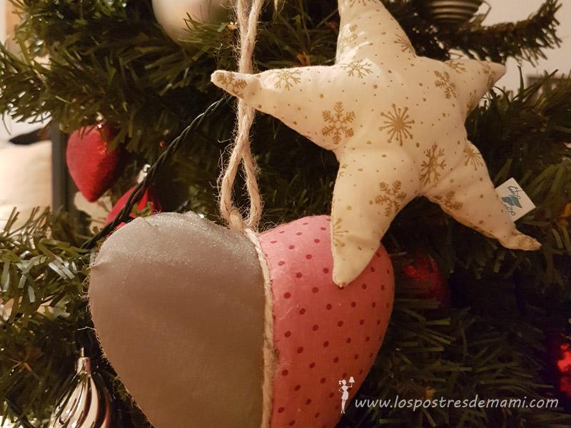 arbol de navidad de hojaldre y chocolate