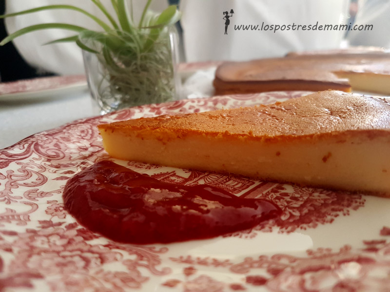 tarta de queso con thermomix